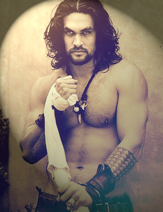chunk of time gathering up pictures of Jason Momoa yesterday just cuz