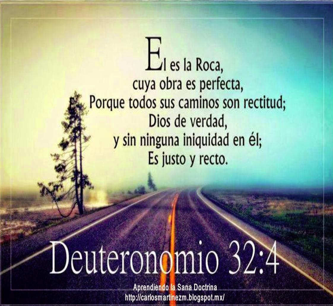 Aprendiendo la sana doctrina deuteronomio 32 4 for De donde es la roca