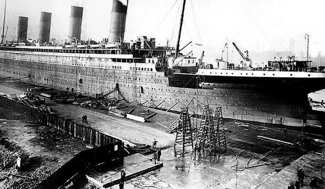 Grandes estructuras históricas en construcción Fotograf%25C3%25ADas+de+la+construcci%25C3%25B3n+del+Titanic+26