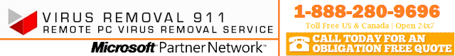 remote computer virus removal service