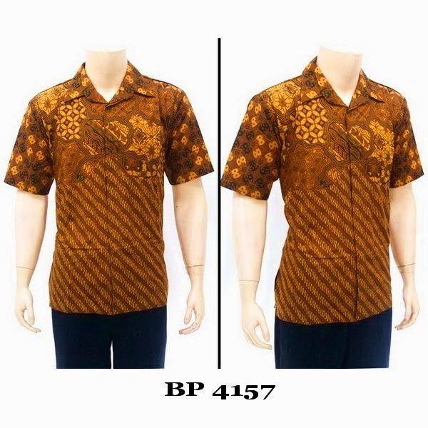 Baju Hem Batik Pria BP4157