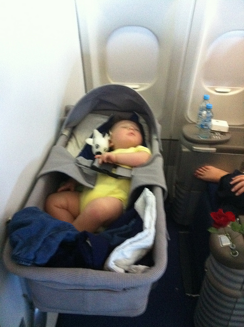 Bassinet In Airplane7