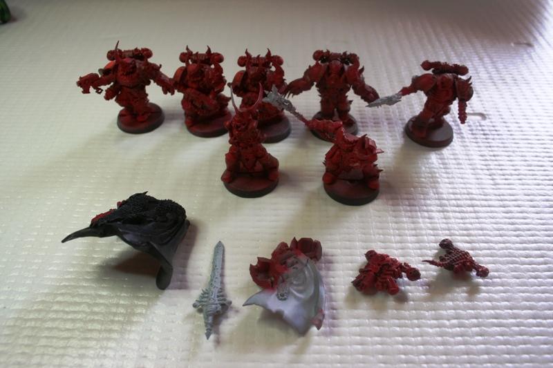 Krannon y los elegidos de venganza oscura de Warhammer 40000