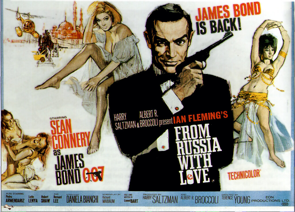 yourturnHeather: BlogalongaBond: From Russia With Love (1963)