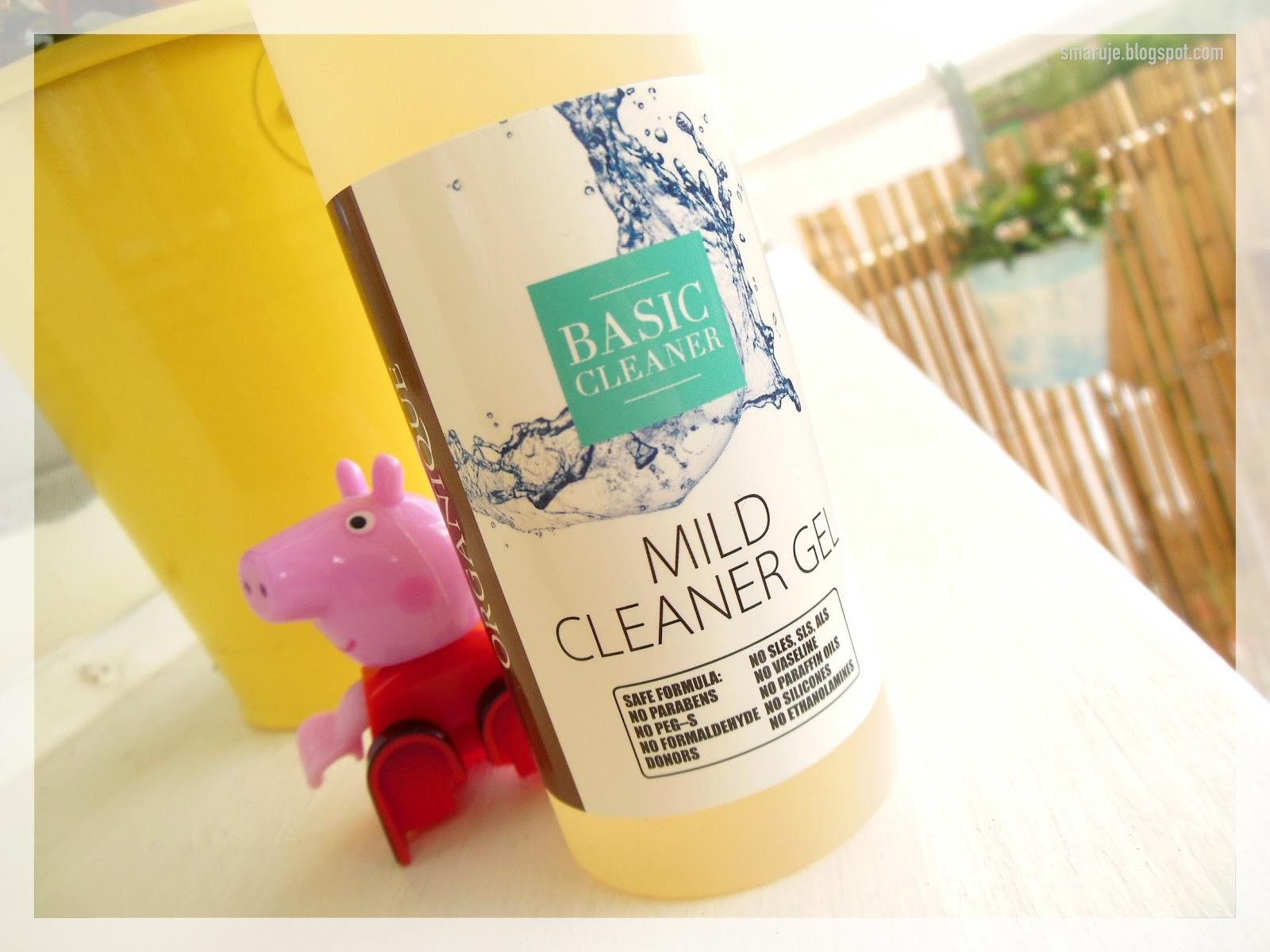 Nie taki łagodny, jak go malują: Organique –Basic Cleaner –Mild Cleaner Gel