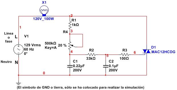 Circuito Xco Moralzarzal : Circuito dimmer con arduino daniele alberti s