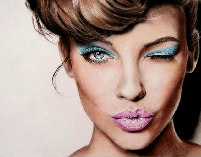 dibujos-de-rostros-mujeres-famosas