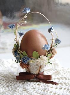 корзинка для яиц, скрап, пасха.