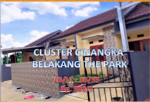 CLUSTER CINANGKA THE PARK