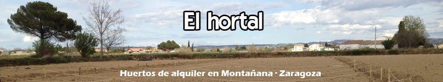 Huertos de alquiler en Montañana