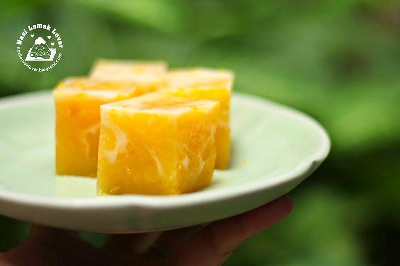 Nasi Lemak Lover Marble Pumpkin Talam Kuih 大理石南瓜糕
