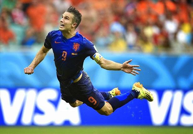 Fakta Menarik Tentang Gol Van Persie Kala Belanda Melumat Spanyol 5:1