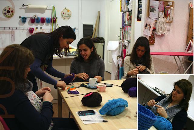 Taller monográfico Iniciación al Punto: Sweet sixteen craft store