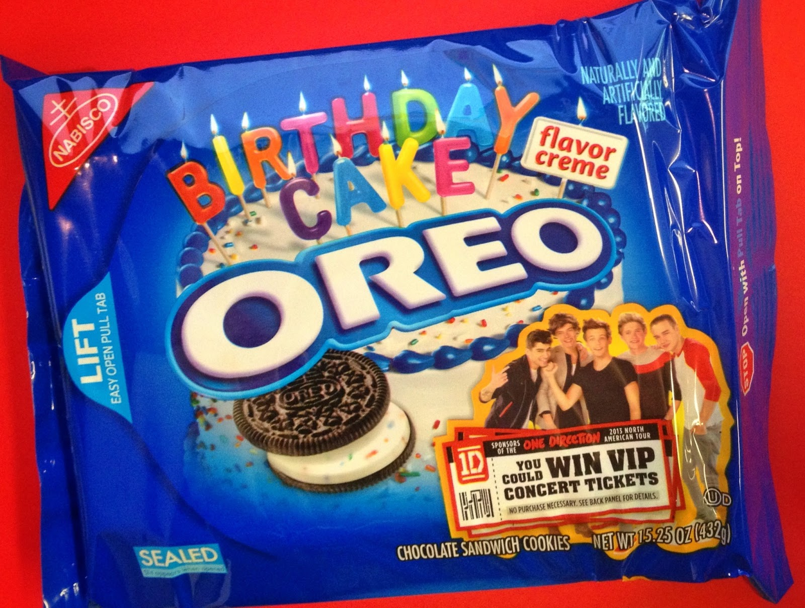 birthday cake everyday with nabisco s birthday cake oreo birthday cake ...