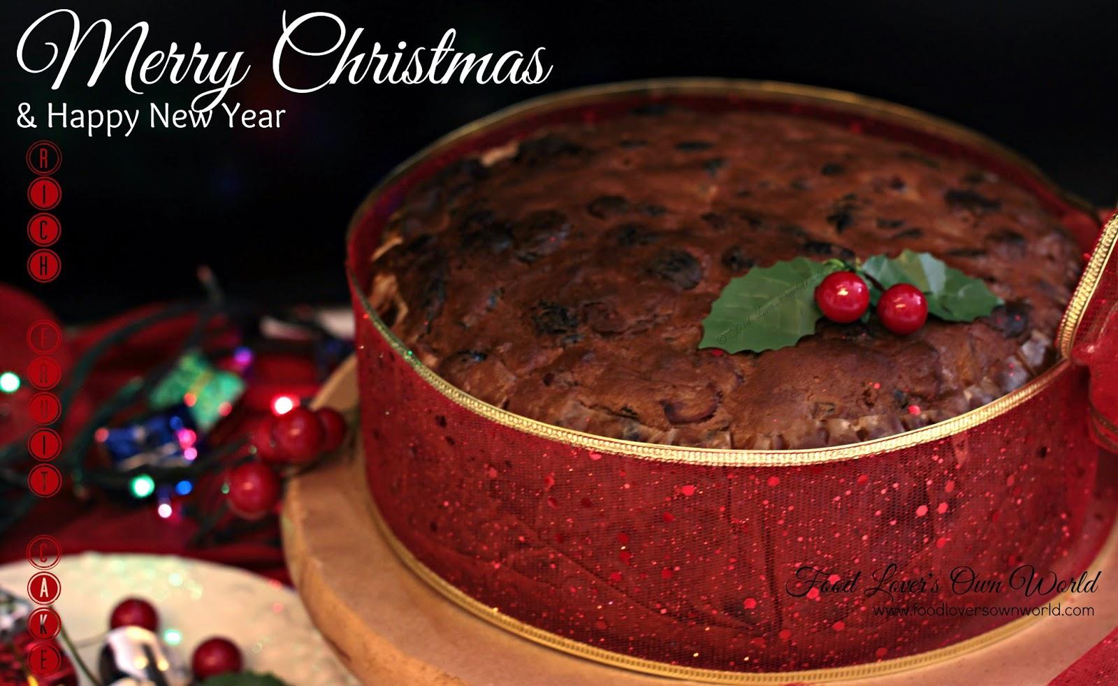 Rich Fruit Cake Recipe Joy Of Baking