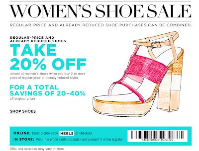 Spring Shoe Sale at Bloomingdales