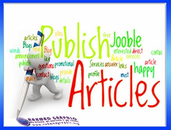 Post Artikel dalam Blog Anda
