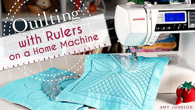 ruler work on a sewing machine craftsy class