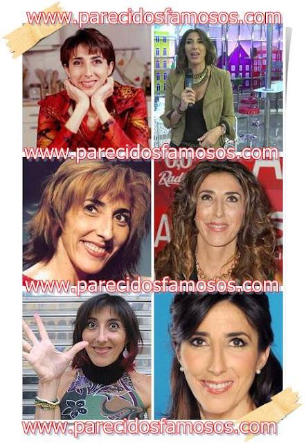 Paz Padilla antes y después
