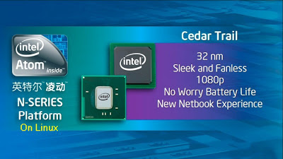 intel atom n-series in linux