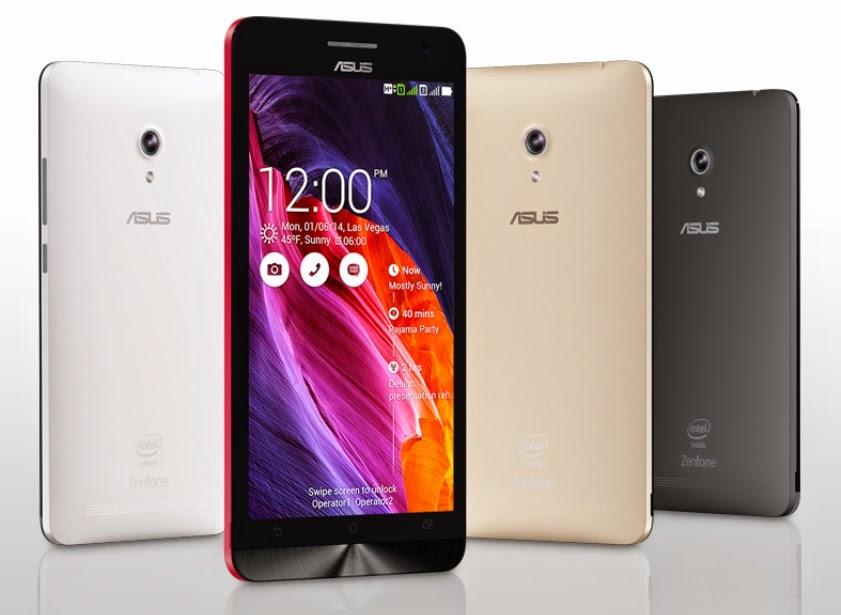 ASUS ZenFone Smartphone Android Terbaik ZenFone 6