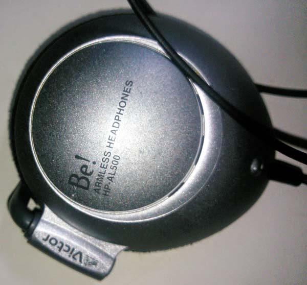 慣れ親しんで使っていたヘッドホン Victor アームレスヘッドホン HP-AL500