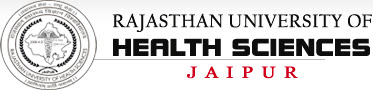 Rajasthan University of Health Sciences Jaipur Online Admit Card download