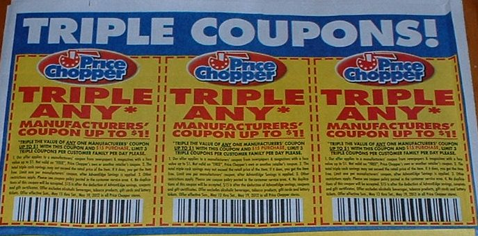 Price chopper printable triple coupons