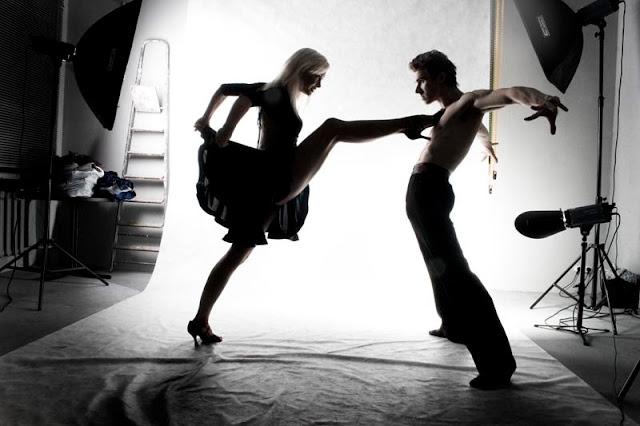 горячий танец пары