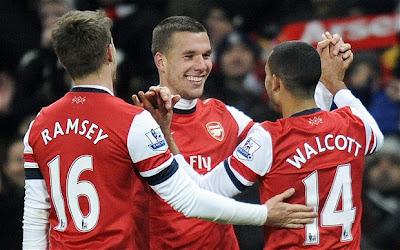Prediksi Skor Arsenal vs Aston Villa 23 Februari 2013, Liga Inggris Bulan februari 2013