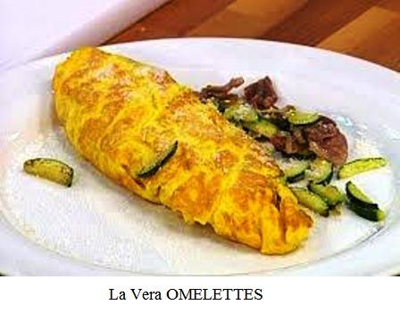 I segreti per cucinare bene omelettes al prosciutto for Cucinare 2 uova