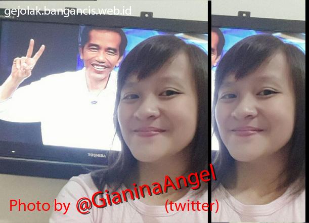 Koleksi Foto Selfie Bersama Jokowi