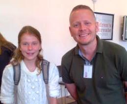 author Patrick Ness at the Children's Laureate Announcement 2013-15