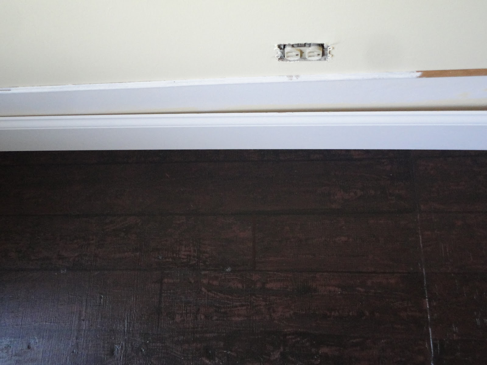 General Splendour Foyer Makeover Painted Hardwood Floors I Love Them