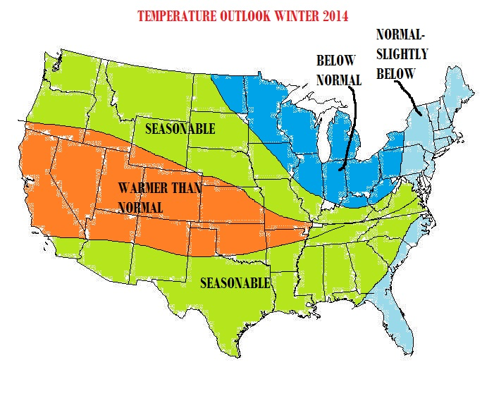 2014 Winter Outlook: Expect Some Action on East Coast with Mild