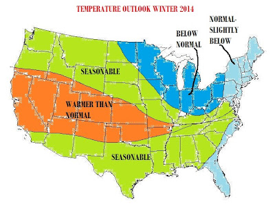 Willy's Weather: 2014 Winter Outlook: Expect Some Action on East