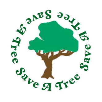 Save a tree and your sanity read an e book - Tell tree dying order save ...