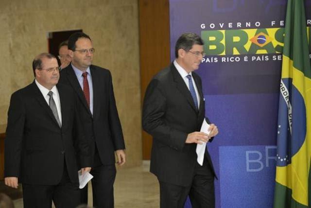 Tombini, Barbosa e Joaquim Levy