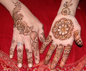 Mehndi Drawing Pictures : New arabic henna mehndi design for hand step by tutorial