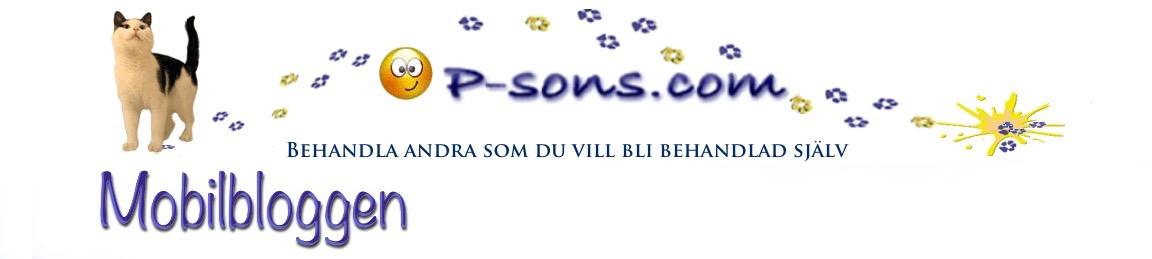 P-sons mobilblogg
