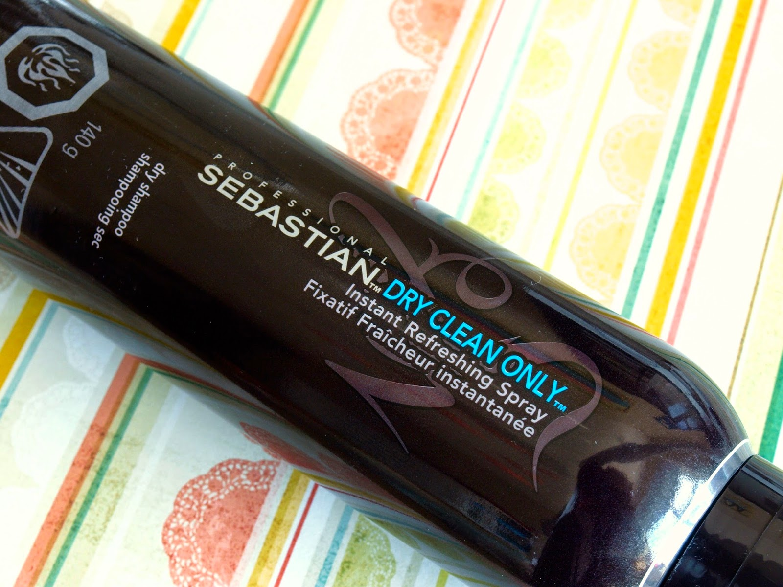 Sebastian Dry Clean Only Instant Refreshing Spray Dry Shampoo: Review