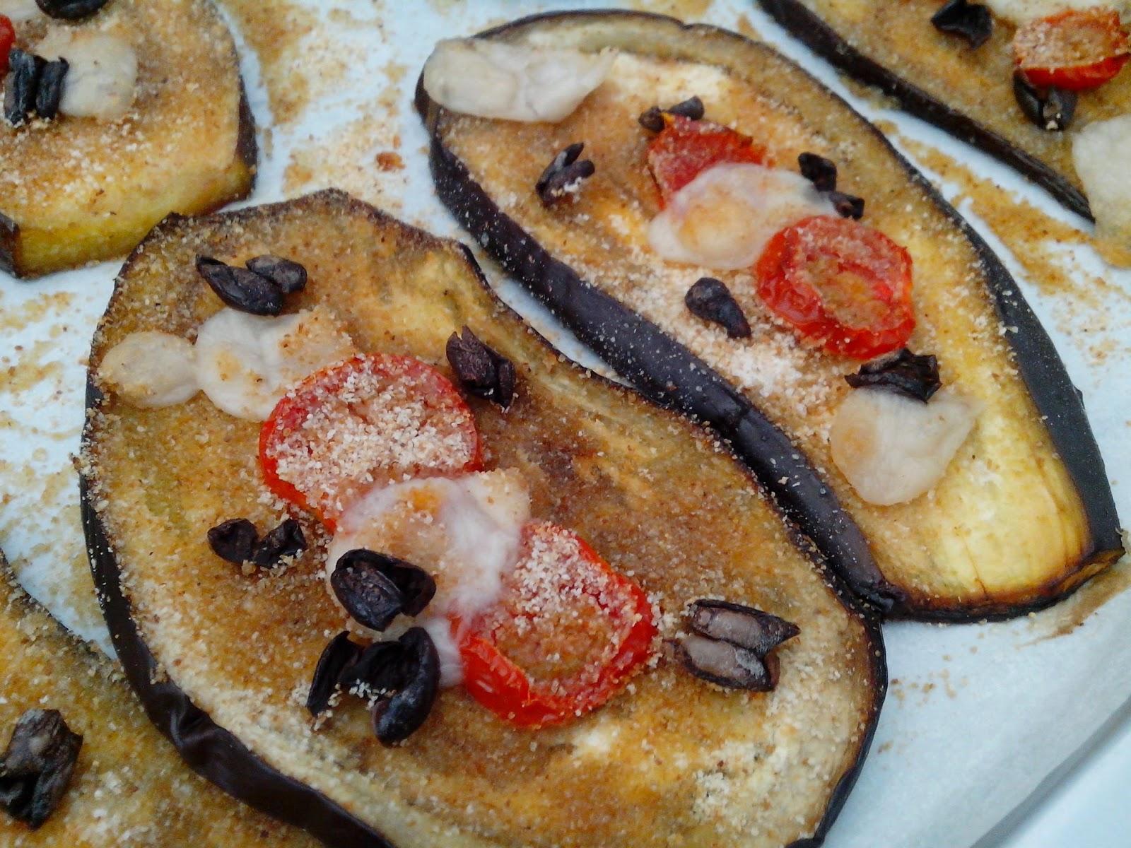 melanzane al forno gratinate