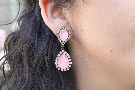 Lorna Hope Pink Earrings