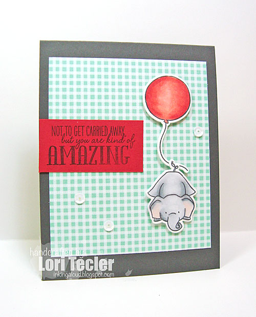 You Are Kind of Amazing card-designed by Lori Tecler/Inking Aloud-stamps and dies from WPlus9