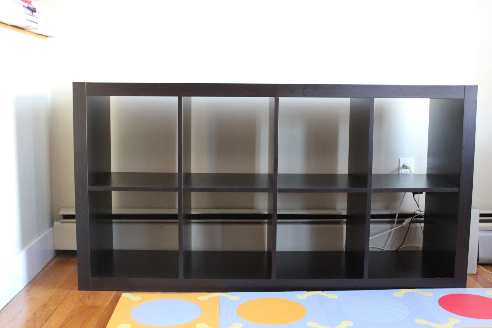 ikea expedit regal 4x2 schwarzbraun raumteiler b cherregal wandregal sideboard ebay. Black Bedroom Furniture Sets. Home Design Ideas