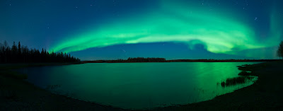Aurora boreal en el Polo Norte - Aurora Kuenzli