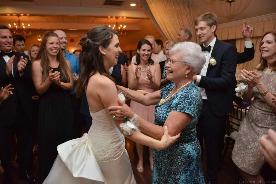 Bride and Grandmother - Three Village Inn Stony Brook