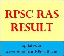 RAS RTS Result
