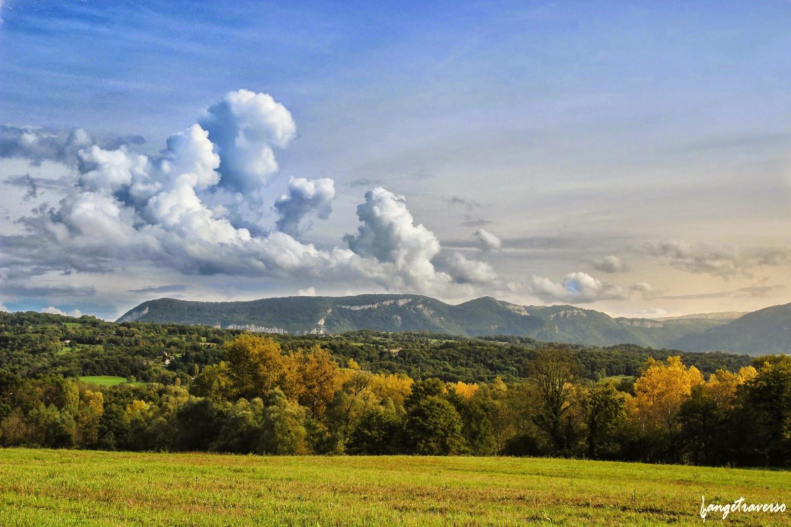 Montagne en automne, Haute-Savoie, Rhone-Alpes