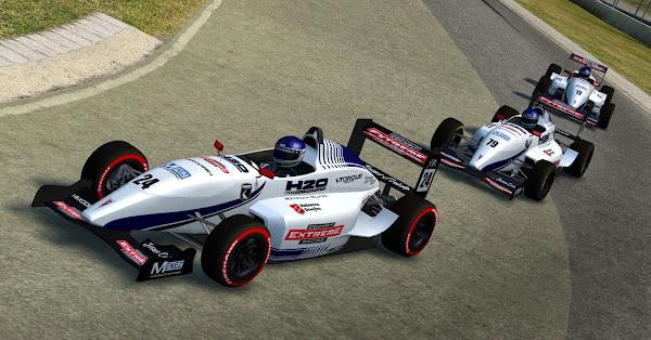 Pintura da 1ª equipe da H2O para o Fórmula XR é apresentado Lfs_00000513